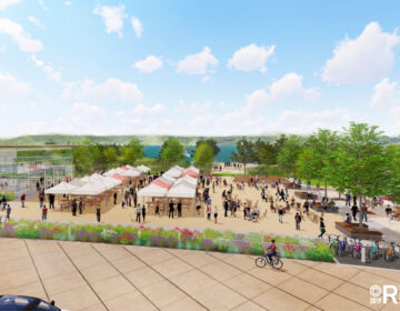 RINKA open air market rendering